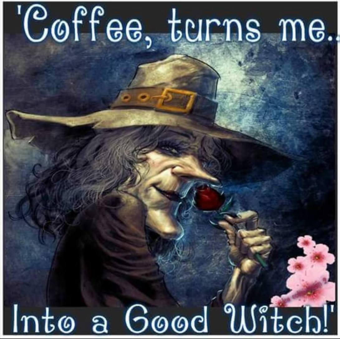 COFFEE GOOD WITCH