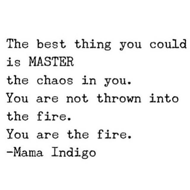 YOU ARE THE FIRE