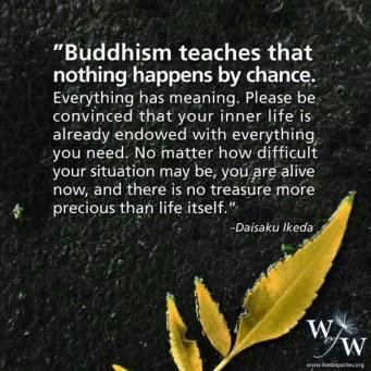 BUDDHISM TEACHES