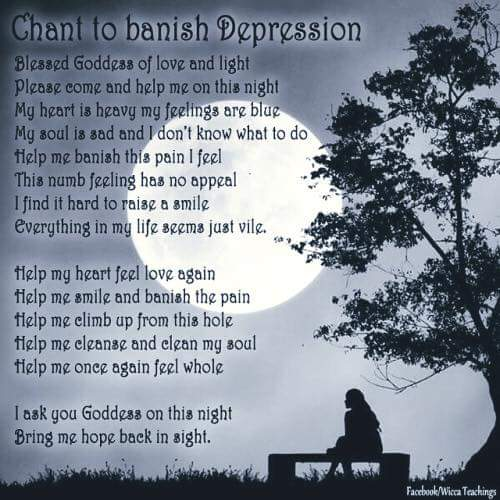 CHANT TO BANISH DEPRESSION