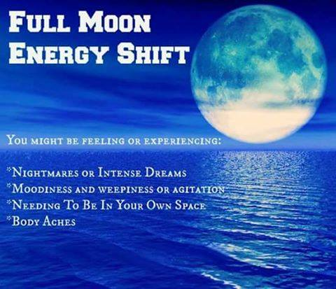 FULL MOON ENERGY SHIFT