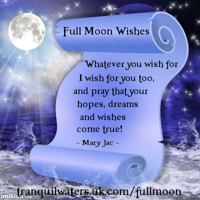 FULL MOON WISHES
