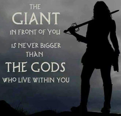 GIANT IN FRONT OF YOU