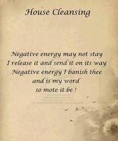 HOUSE CLEANING SPELL